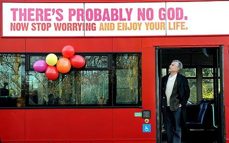 god bus 460 1217010c Atheist buses denying Gods existence take to streets