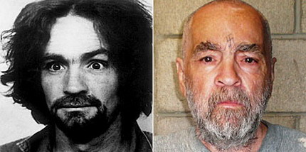 charles manson 2009 Aging Charles Manson captured in prison photo
