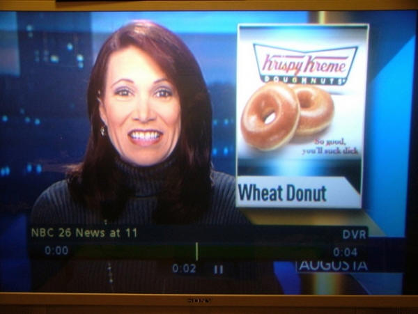 krispy kreme screen shot What would you do for a Krispy Kreme?