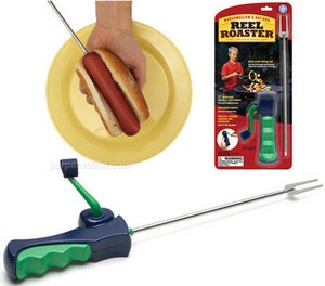 reelroaster small Reel Roaster   Because fish hotdogs are FUN
