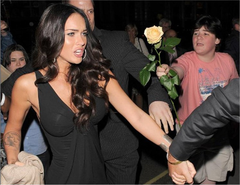 6if8cy Megan Fox talks about what happend