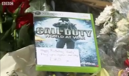 cod sadness Dads Tribute: Call of Duty on Soldier Sons Grave   Sad   Kotaku