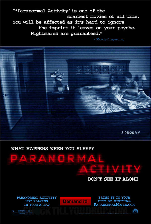 PARASMALL2 Paranormal Activity Trailer