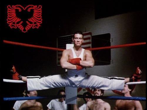 jean claude van damme karate tiger albanian 121 Jean Claude Van Damme to fight Somluck Kamsing in K 1