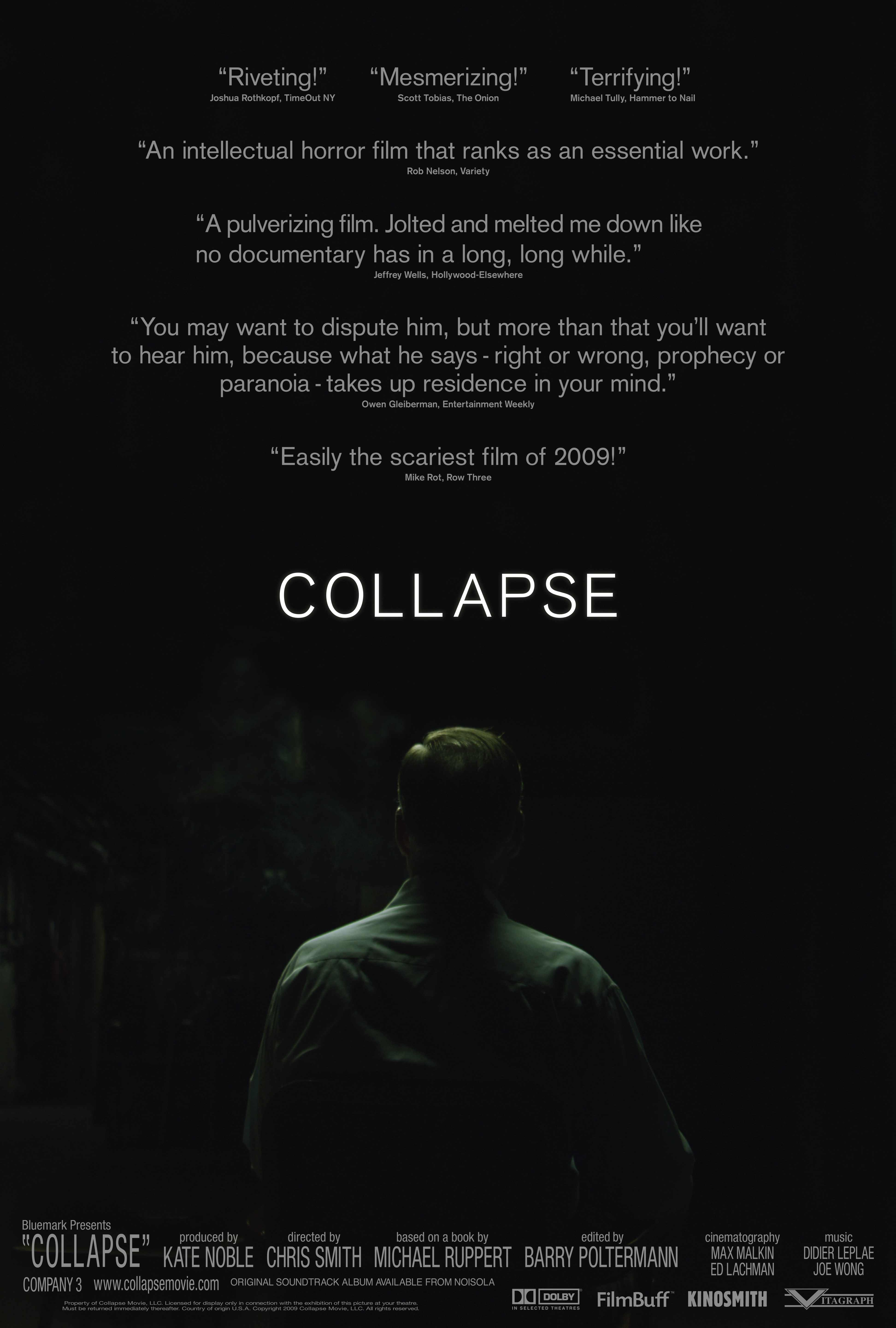 Collapse Poster pop Must See Documentary : Collapse Trailer
