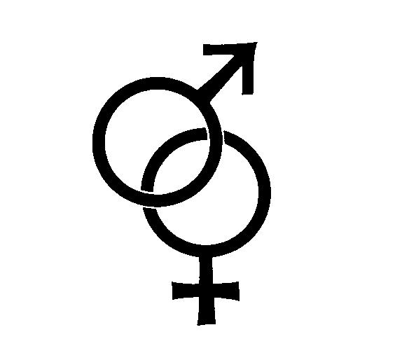 female symbol Men and women respond differently to danger
