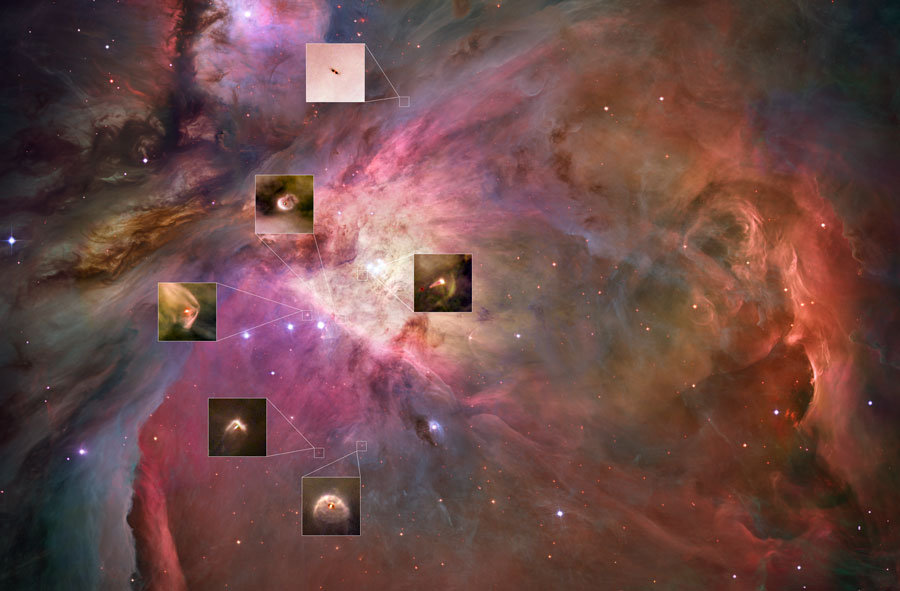 orionproplyds hst New Planetary Systems in Orion