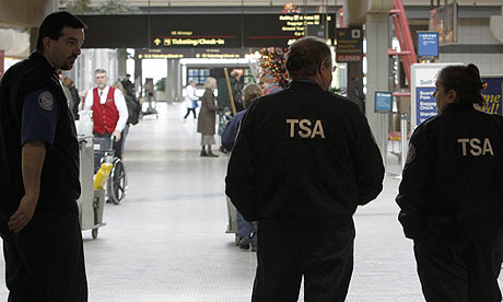 TSA agents at Pittsburgh 001 US Imposes Extra Security Checks On Air Passengers From 14 Countries