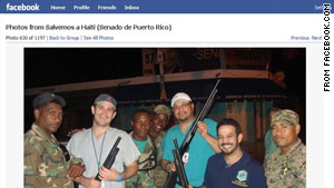 story.haiti.doctors.fb Photos of drinking, grinning aid mission doctors cause uproar