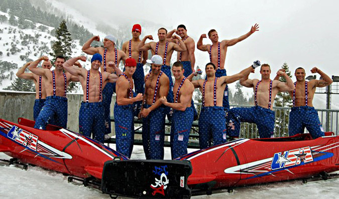 6a00d8341c730253ef0120a8ec9b1c970b 800wi U.S. Olympic Bobsled Team, Shirtless and Flexing