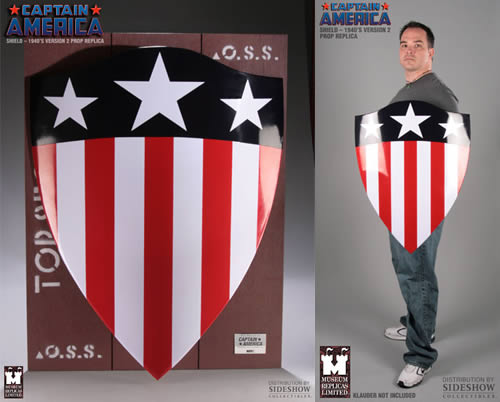 captain america shield2 Captain America Shield   Limited Edition: 500