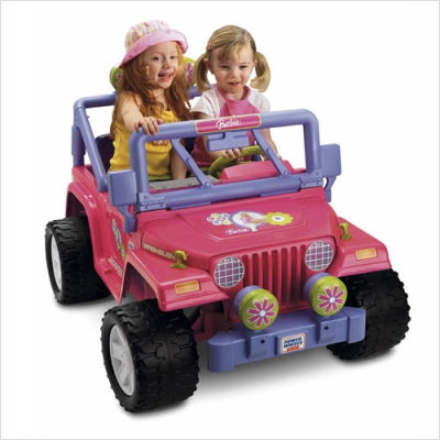 Power+Wheels+Barbie+Jammin+Jeep+Electric+Ride+On+Toy Man Convicted for Driving Drunk in Barbie Car