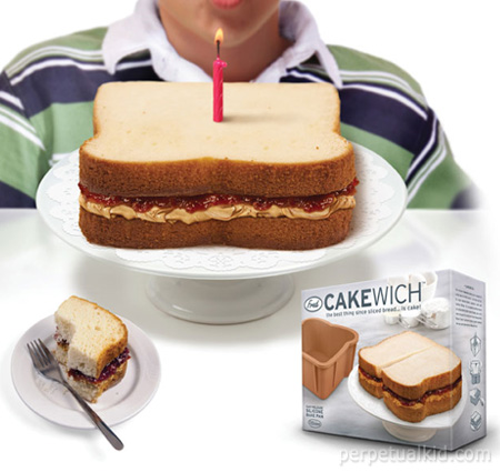 cakewich sandwich mold Cakewich Molds Will Make Awesome Cakes for Sandwich Fans