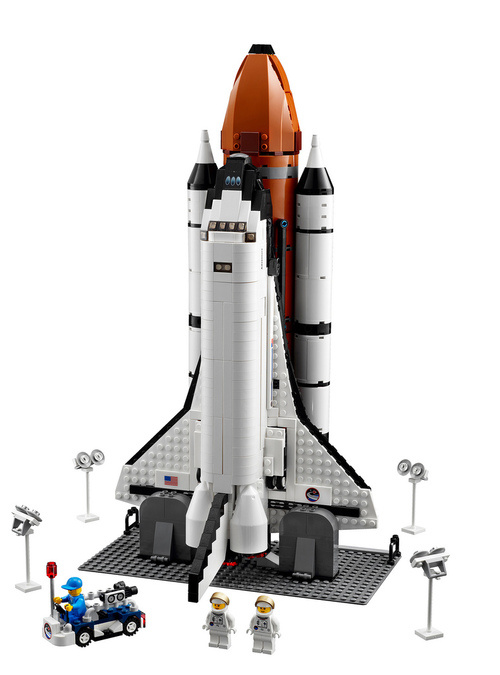 500x 4588130390 238d3c105a b New Lego Space Shuttle Is the Ultimate Nerdgasm