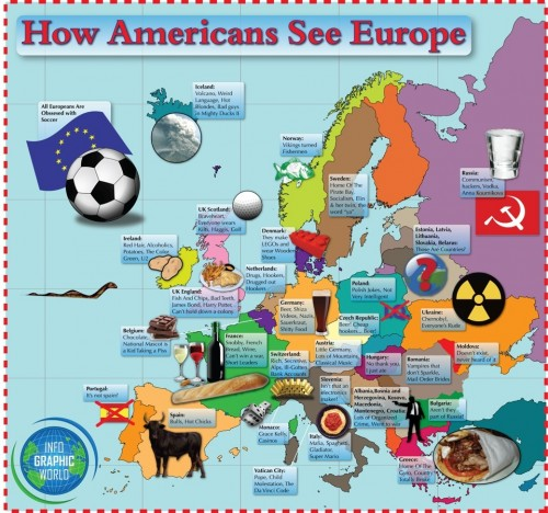 how americans see europe 500x468 The Real Europe