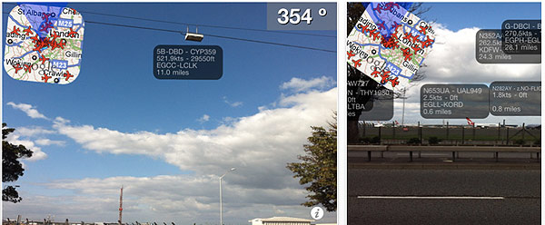 planes 864e Sky Watching with your iPhone