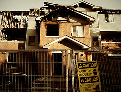 burnthouse Fire victims billed for lost boxes