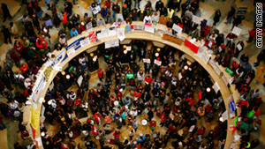 story.midwest.protests.gi  Budget battles cause unrest in the Midwest