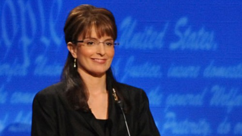 Tina Fey Poses As Sarah Palin 500x282 Fox News Uses Tina Fey Graphic In Sarah Palin Story