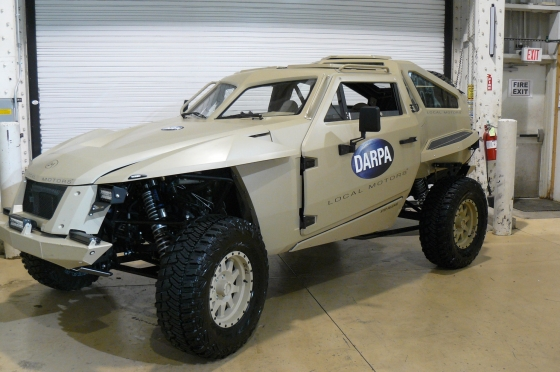 darpa car a new military ride