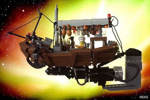 6055826185 78366d7c39 Mr. Kim's flying restaurant from the Fifth Element