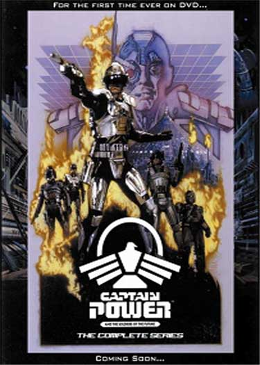 CaptainPower Complete e Captain Power and the Soldiers of the Future DVDs in December