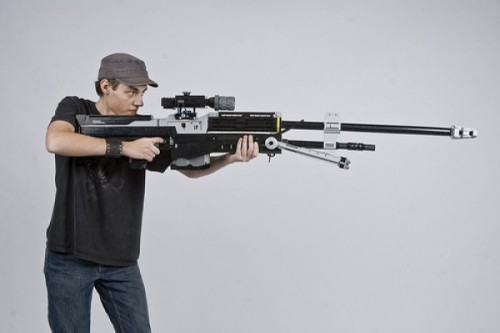 11 e1320214914117 500x333 Life Sized Halo Sniper Rifle Made From LEGO