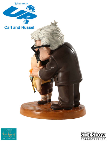 901656 press04 001 UP! Carl and Russell : Meritorious Moment Porcelain Statue