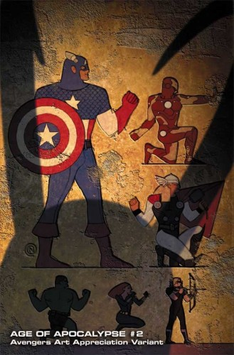 Age of Apocalypse 2 AAA ChristianNauck 329x500 Art Appreciation Avengers variant covers