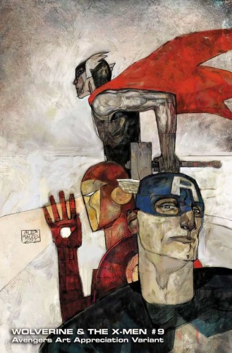 Wolverine and the X Men 9 AAA AlexMaleev 329x500 Art Appreciation Avengers variant covers