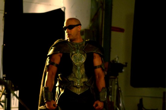 vin diesel riddick 3 550x366 Riddick 3: First Look At Vin Diesel as Riddick