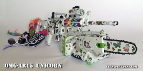 201202070943 500x250 The OMG AR15 Unicorn zombie gun