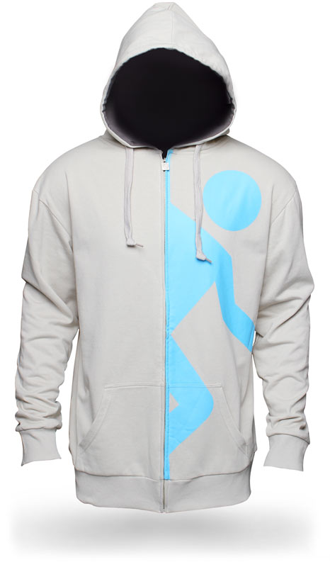 e5a2 portal hoodie Portal 2 Test Candidate Hoodie portal Gaming Awesome Things