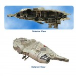 millenium falcon cut away statue 150x150 millenium falcon cut away statue