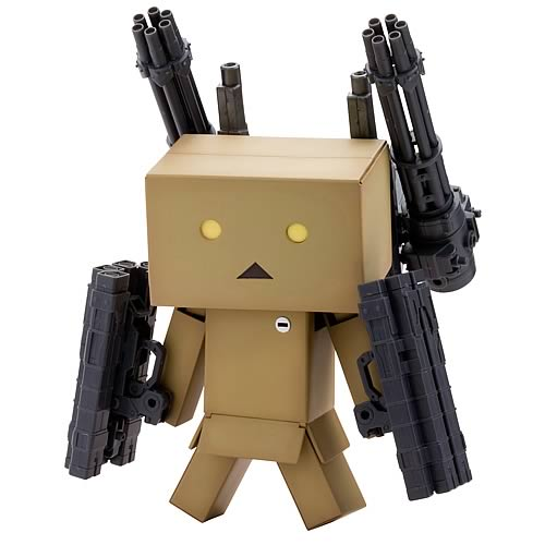 box boy with guns Yotsubato Danto Model Kit