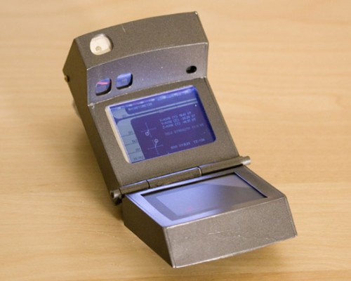 tricorder 500x400 This is a real, working, Star Trek style Tricorder