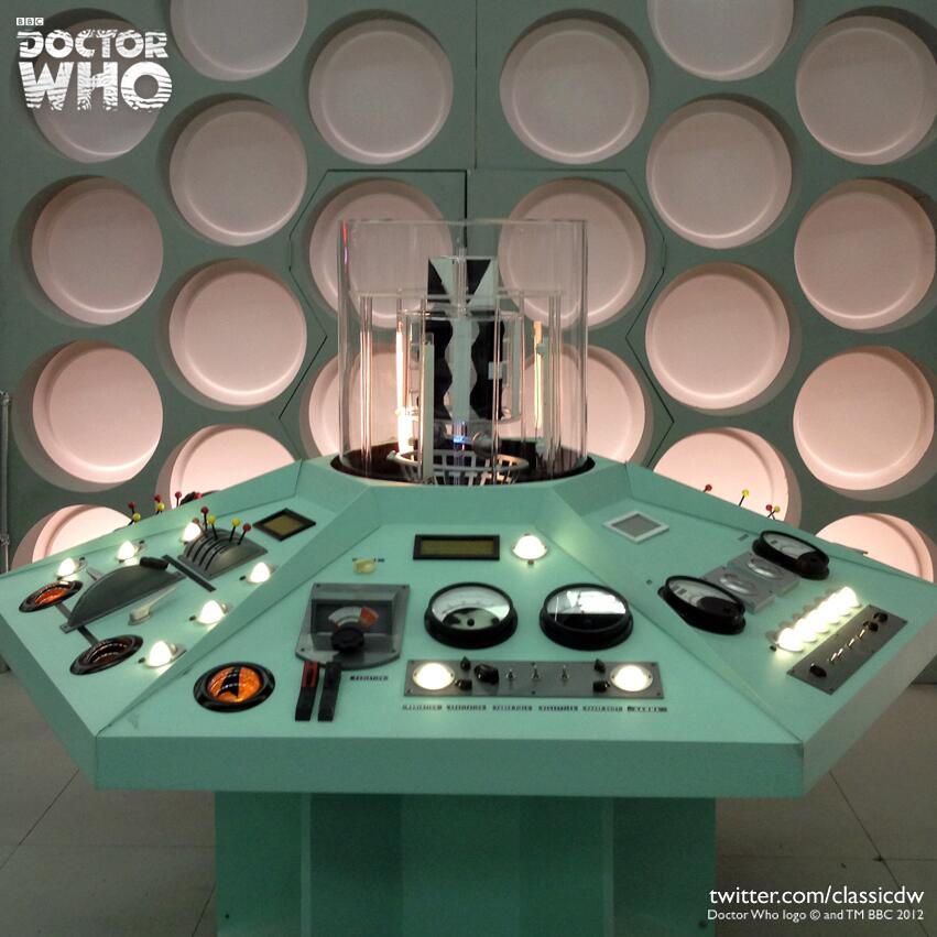 first doctor tardis set Excellent Reconstruction of The First Doctor's TARDIS Set