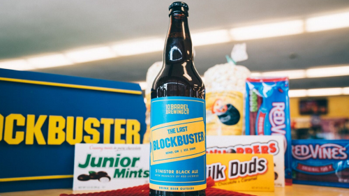 igia0fqsiaxvzl3xcmmq 500x281 America's only remaining Blockbuster store gets its own beer