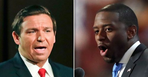 180828 ron desantis andrew gillum 2up square grid ac 855p 9dbd936a22b2be36d9770e6fd9ec550f.12006307705 500x263 Gillum statement stokes intrigue as Florida vote margin tightens