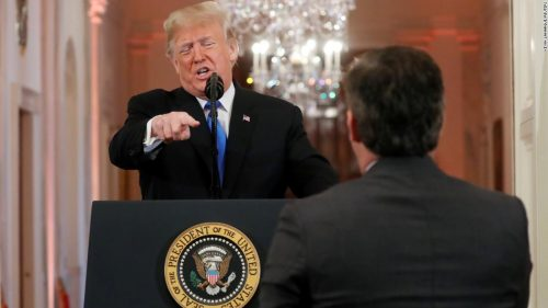 181107124641 bpt101 trump news conference 11072018 super tease 500x281 CNN sues President Trump and top White House aides for barring Jim Acosta