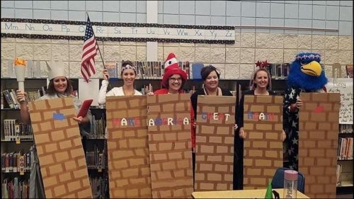 610642204 1140x641 500x281 We are better than this: Middleton teachers dress up as border wall, Latinos for Halloween