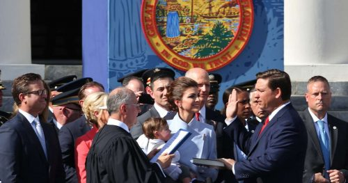 SP 419555 KEEL 1 DeSantis 500x263 Ron DeSantis becomes Florida's newest governor: 'Our rights are endowed by God, not government'