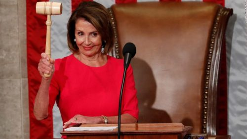 190103144523 02 nancy pelosi gavel 0103 super tease 500x281 Heres who Nancy Pelosi is bringing to the State of the Union