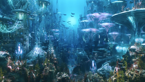 aquamanatlantis2018 500x283 DC diving back into Aquaman's world with horror spinoff The Trench: report