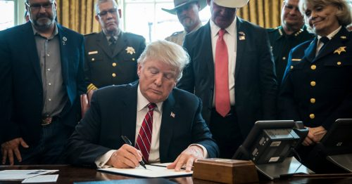 15dc emergency sub facebookJumbo 500x262 Trump Issues First Veto After Congress Rejects Border Emergency