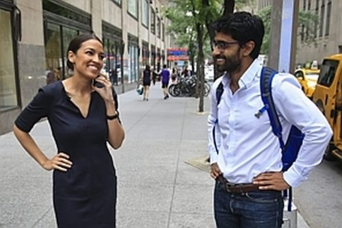 AQHVLUB7WAI6TE3BGAP7WW6V4Y 500x333 Payments to corporation owned by Ocasio Cortez aide come under scrutiny