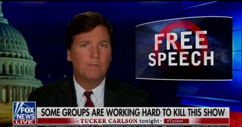 Tucker Carlson Tonight   08 06 25 PM 500x262 The past 48 hours in Tucker Carlson drama, explained