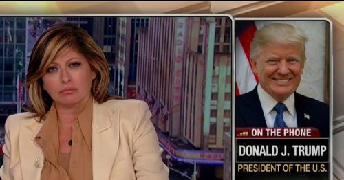 MB 500x262 Trump's unhinged Fox Business interview illustrates how Fox News normalizes Trump