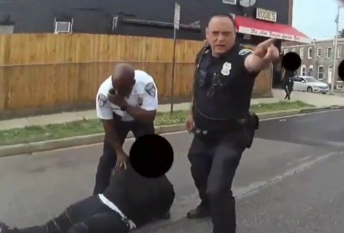 ZSWKWQSZ4NGYTC6EMIHCLHHIMU 500x339 Officers tackled a bystander they said was 'combative.' Then videos told a different story.