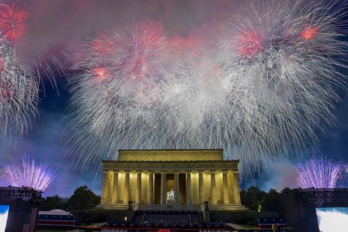 YNBS6JE6YYI6TA7DIX663DUNFY 500x334 Trump's July Fourth event and weekend protests bankrupted D.C. security fund, mayor says